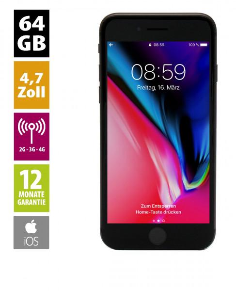Apple iPhone 8 (64GB) - spacegrau