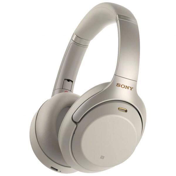 SONY WH-1000XM3 - Over-ear Kopfhörer - Bluetooth - NFC - 3,5 mm Stecker - Silber
