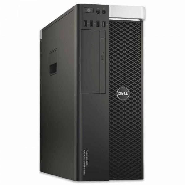 Dell Precision T5810 - Xeon E5-1607 v3 @ 3,1 GHz - 32GB RAM - 250GB SSD - DVD-RW - Nvidia Quadro K4200 - Win10Pro