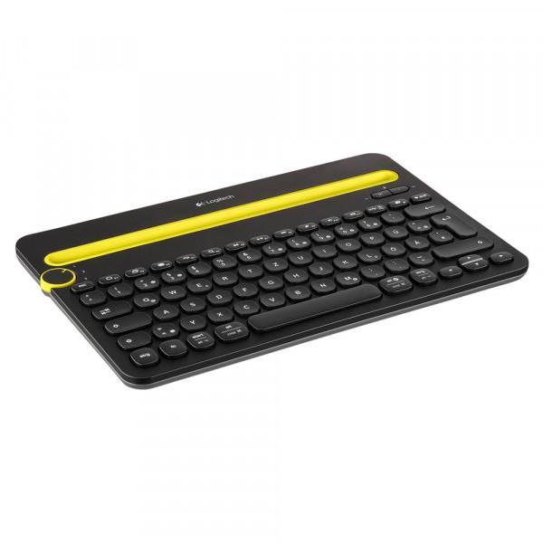 Logitech K480 - Funktastatur - Multi-Device - schwarz