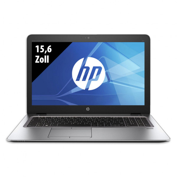 HP Elitebook 850 G4 - 15,6 Zoll - Core i5-7300U @ 2,6 GHz - 8GB RAM - 250GB SSD - FHD (1920x1080) - Webcam - Win10Pro