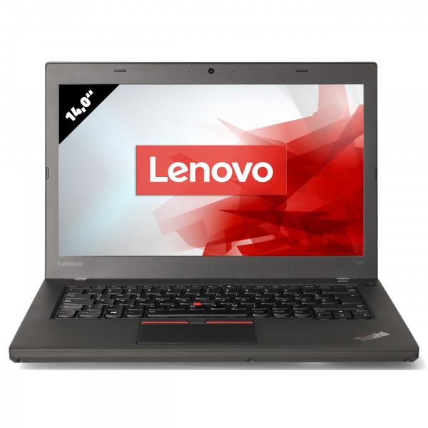Lenovo ThinkPad T460 - 14,0 Zoll - Core i5-6300U @ 2,4 GHz - 8GB RAM - 250GB SSD - FHD (1920x1080) - Webcam - Win10Home