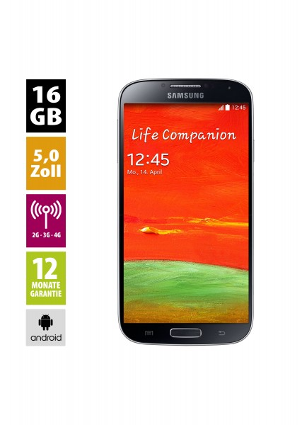 Samsung Galaxy S4 Value Edition (16GB) - black-mist