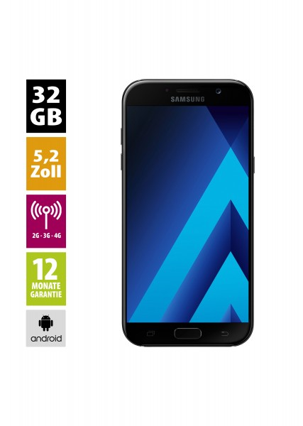 Samsung Galaxy A5 2017 (32GB) - Black Sky