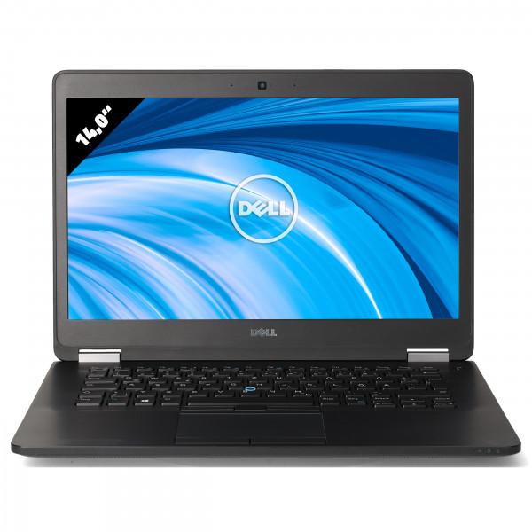 Dell Latitude E7470 - 14,0 Zoll - Core i7-6600U @ 2,6 GHz - 8GB RAM - 500GB SSD - FHD (1920x1080) - Webcam - Win10Pro