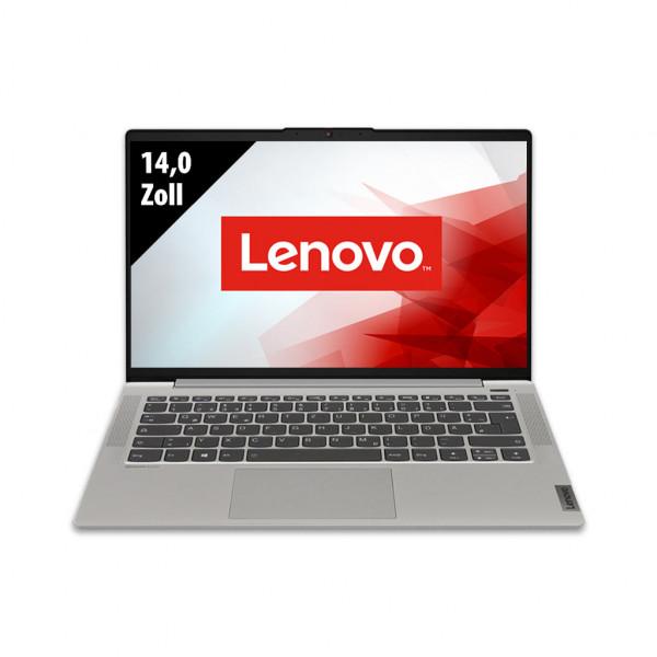 Lenovo IdeaPad 5 Platinum Grey - 14,0 Zoll - AMD Ryzen 7 4800U @ 1,8 GHz - 16GB RAM - 500GB SSD - FHD (1920x1080) - Webcam - ohne OS