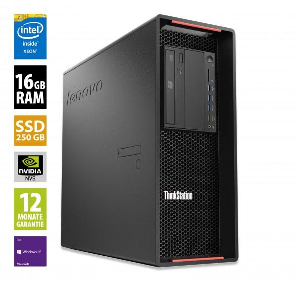 Lenovo ThinkStation P700 - 2x Intel Xeon E5-2650 V3 @ 2,3 GHz - 16GB RAM - 250GB SSD - DVD-RW - Nvidia NVS 315 - Win10Pro