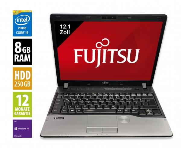 Fujitsu LifeBook P702 - 12,1 Zoll - Core i5-3320M @ 2,6 GHz - 8GB RAM - 250GB SSD - WXGA (1280x800) - Webcam - Win10Pro