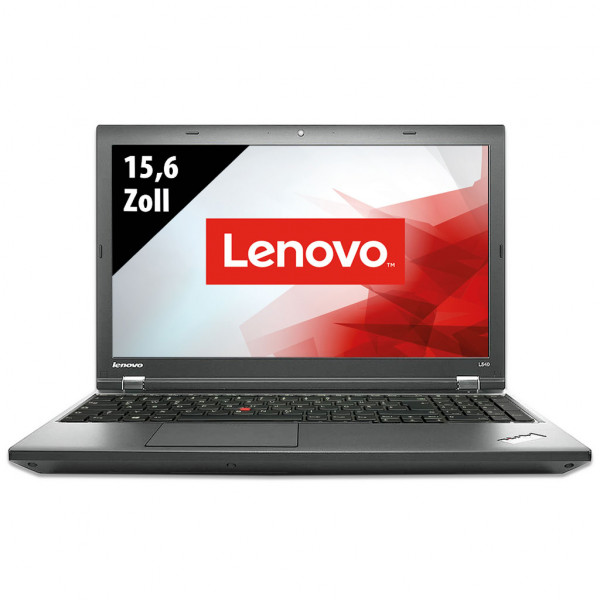Lenovo ThinkPad L540 - 15,6 Zoll - Core i5-4200M @ 2,5 GHz - 8GB RAM - 250GB SSD - WXGA (1366x768) - Webcam - Win10Pro