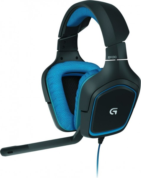 Logitech G430 - Surround Sound Gaming Headset - blau