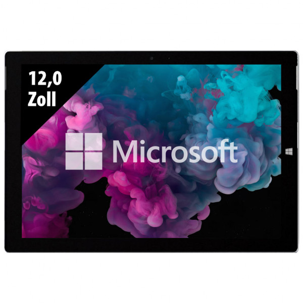 Microsoft Surface Pro 3 - 12,0 Zoll - Core i5-4300U @ 1,9 GHz - 8GB RAM - 250GB SSD - FHD+ (2160x1440) - Touch - Webcam - Win10Pro
