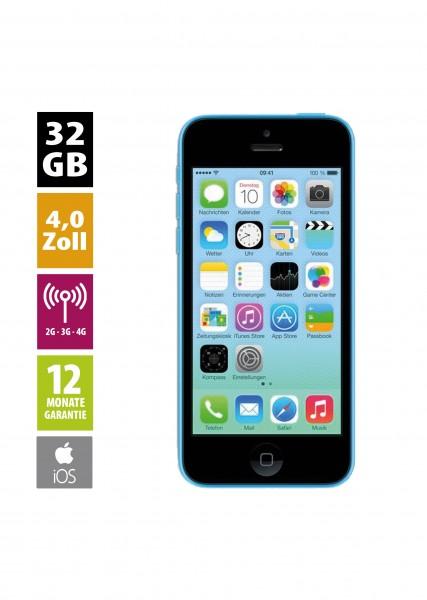 Apple iPhone 5c (32GB) - Blue