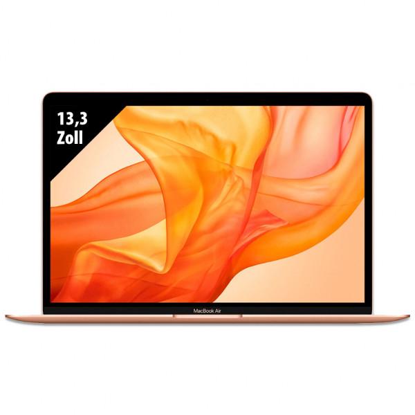 Apple MacBook Air (2020) Gold - 13,3 Zoll - Core i7-1060NG7 @ 1,2 GHz - 16GB RAM - 256GB SSD - WQXGA (2560x1600) - Webcam - macOS