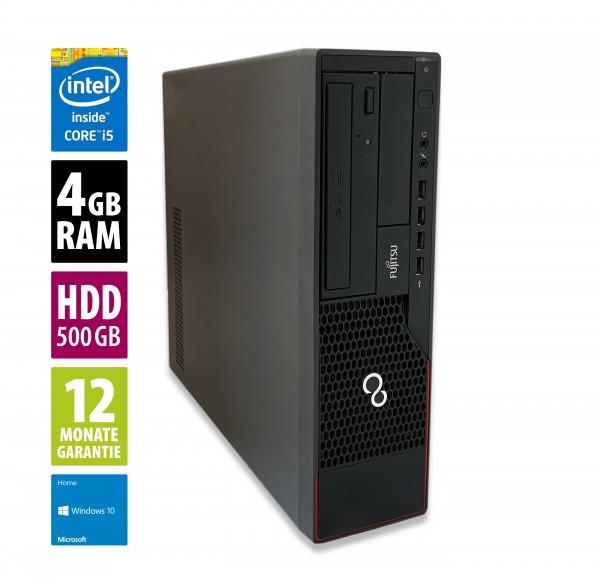 Fujitsu Esprimo E900 DT - Core i5-2400 @ 3,1 GHz - 4GB RAM - 500GB HDD - DVD-RW - Win10Home