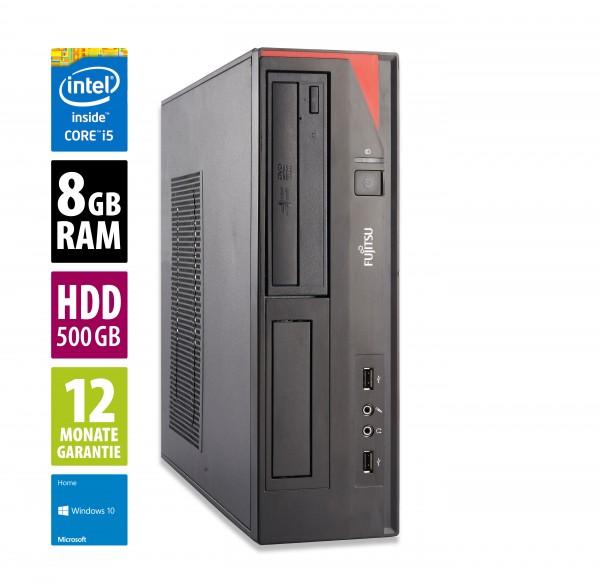 Fujitsu Esprimo E420 DT - Core i5-4460 @ 3,2 GHz - 8GB RAM - 500GB HDD - DVD-RW - Win10Home