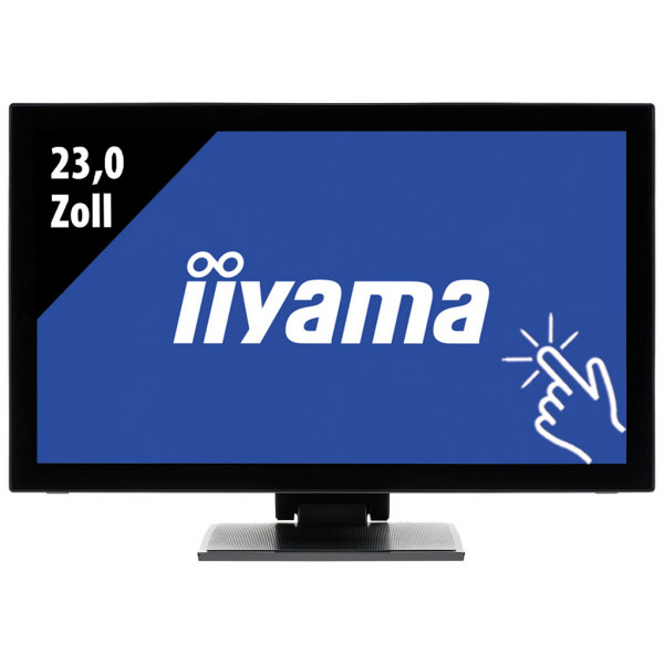 Iiyama Pro Lite T2336MSC Touch Monitor - 23,0 Zoll - FHD (1920x1080) - 5ms - schwarz