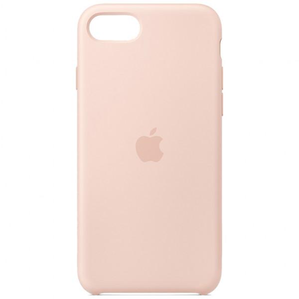 Apple Silikon Case - Handyhülle (8/7/SE2020) - Sandrosa