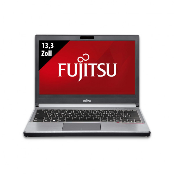 Fujitsu Lifebook E736 - 13,3 Zoll - Core i3-6100U @ 2,3 GHz - 16GB RAM - 500GB SSD - WXGA (1366x768) - Win10Home
