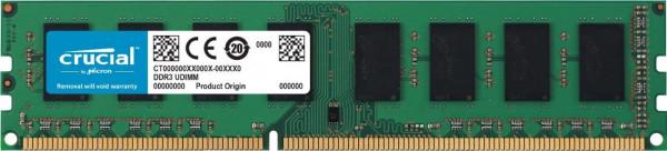 Crucial - 4 GB - DIMM - DDR3 - 1600 MHz - CL11 - RAM