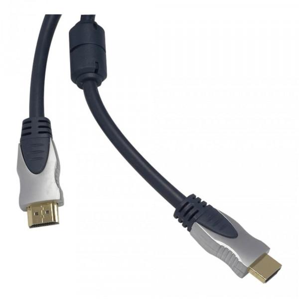 HDMI Kabel - 7,5m - schwarz/silber
