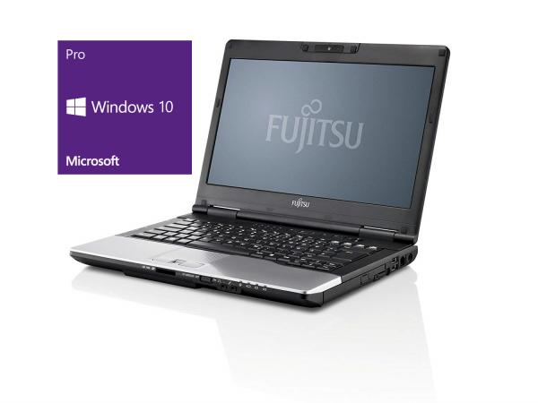 Fujitsu LifeBook S782 - 14,0 Zoll - Core i7-3540M @ 3.0 GHz - 8GB RAM - 250GB SSD - DVD-RW - WXGA (1366x768) - Win10Pro