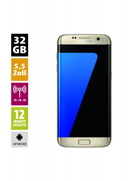 Samsung Galaxy S7 Edge (32GB) - Gold Platinum