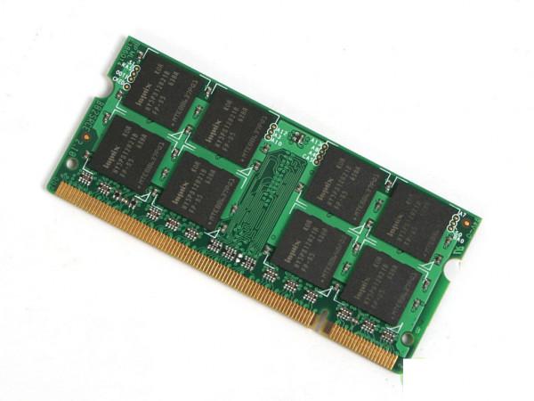 4 GB DDR4 RAM für Notebook - Speichertaktfrequenz: 2400 MHz