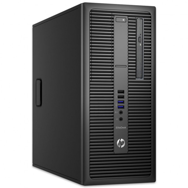 HP EliteDesk 800 G2 MT - Core i5-6500 @ 3,2 GHz - 8GB RAM - 250GB SSD - DVD-RW - Win10Home