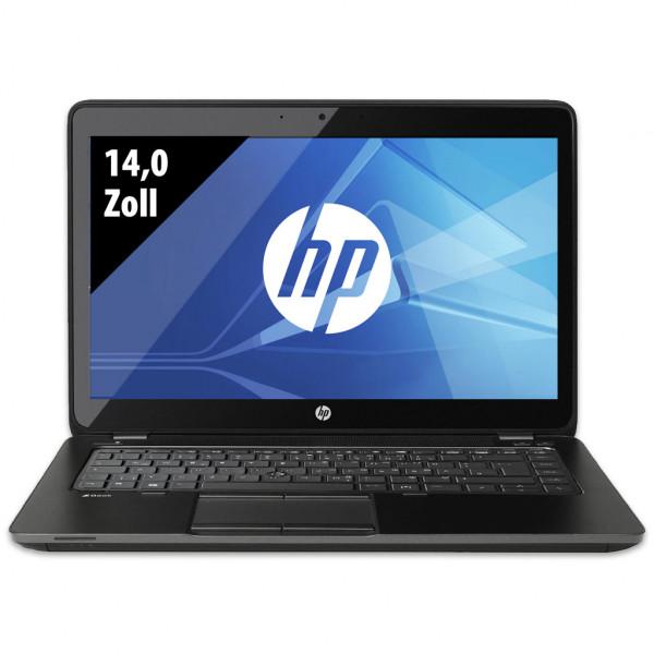 HP ZBook 14 - 14,0 Zoll - Core i5-4300U @ 1,9 GHz - 16GB RAM - 500GB SSD - AMD FirePro M4100 - WSXGA (1600x900) - Webcam - Win10Pro