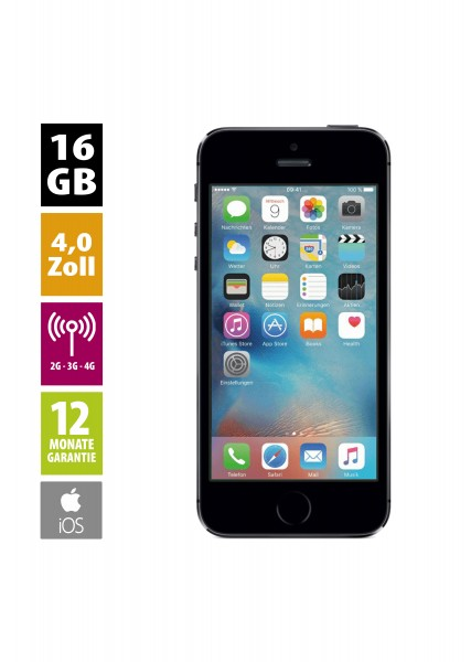 Apple iPhone 5s (16GB) - Space Gray