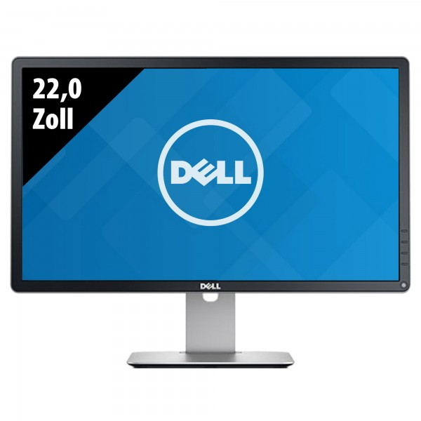 Dell P2213f - 22,0 Zoll - WSXGA+ (1680x1050) - 5ms - schwarz/silber