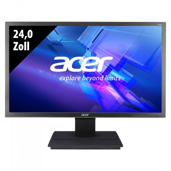 Acer B246HLymdpr - 24,0 Zoll - FHD (1920x1080) - 5ms - dunkelgrau