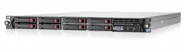 HP Proliant DL 360 G7 - 1x Xeon E5620 @ 2,4 GHz - 12GB RAM - 146GB HDD - kein LW