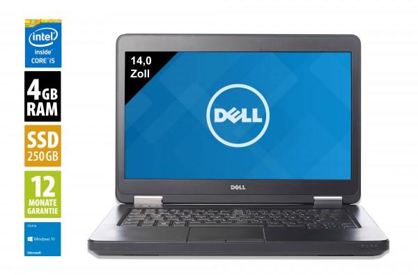 Dell Latitude E5440 - 14,0 Zoll - Core i5-4200U @ 1,6 GHz - 4GB RAM - 250GB SSD - DVD-RW - WXGA (1366x768) - Win10Home