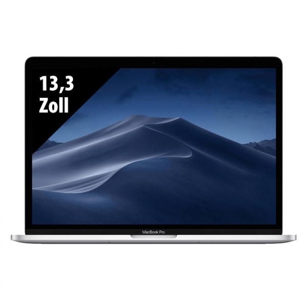 Apple MacBook Pro (2019) Silver - 13,3 Zoll - Core i7-8569U @ 2,8 GHz - 16GB RAM - 512GB SSD - WQXGA (2560x1600) - Touch Bar - Webcam - macOS