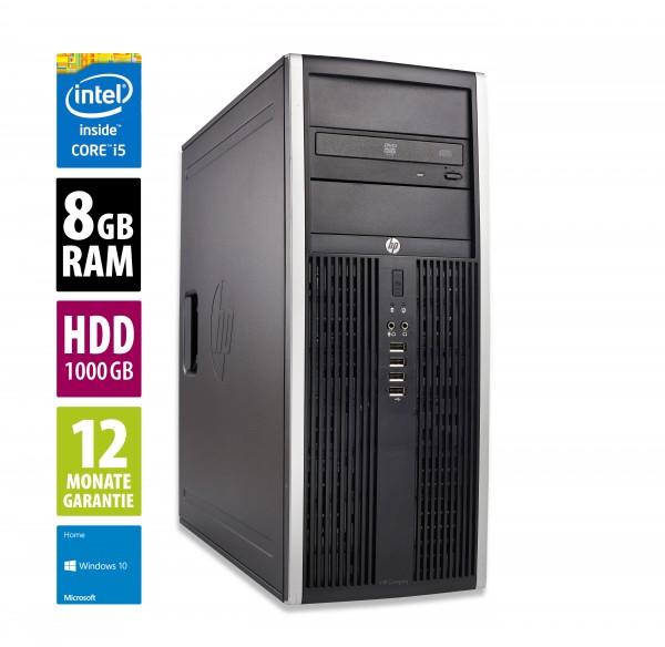 HP Elite 8300 CMT - Core i5-3470 @ 3,2 GHz - 8GB RAM - 1000GB HDD - DVD-RW - Win10Home