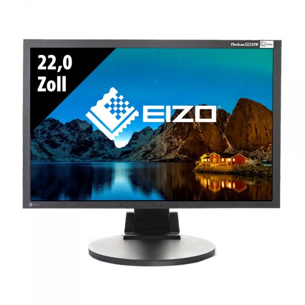 Eizo FlexScan S2231W - 22,0 Zoll - WSXGA+ (1680x1050) - 8ms - schwarz