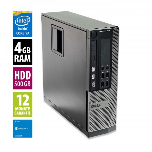 Dell Optiplex 7010 SFF - Core i3-3240 @ 3,4 GHz - 4GB RAM - 500GB HDD - Win10Home