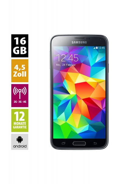 Samsung Galaxy S5 mini (16GB) - charcoal-black