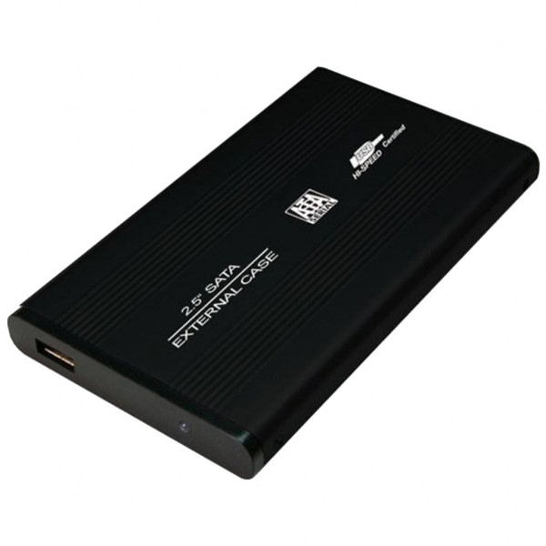 Logilink 2,5 SATA HDD Festplattengehäuse USB 2.0 - SATA-150 - 150 MBps - USB 2.0 - Schwarz