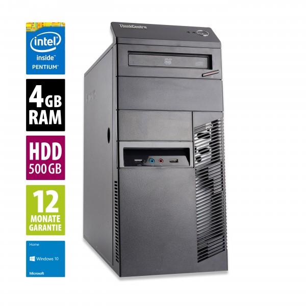 Lenovo Thinkcentre M83 MT - Pentium G3220 @ 3,0 GHz - 4GB RAM - 500GB HDD - Win10Home
