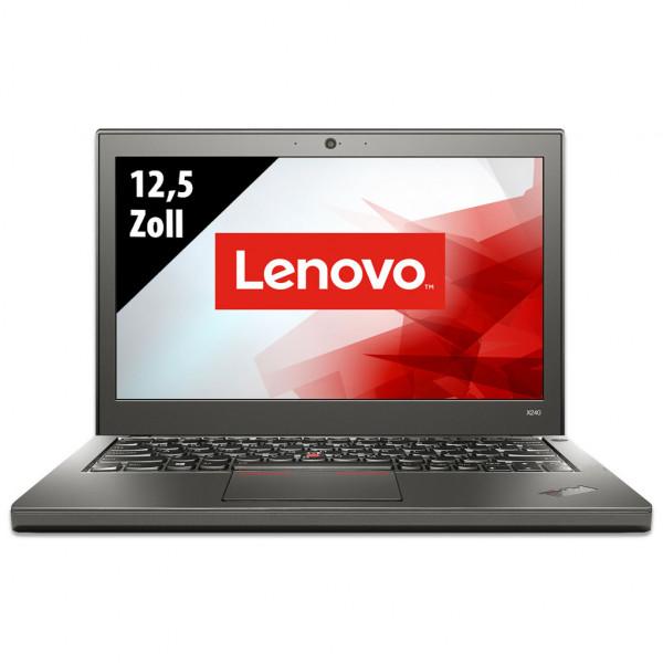Lenovo ThinkPad X240 - 12,5 Zoll - Core i5-4300U @ 1,9 GHz - 8GB RAM - 250GB SSD - WXGA (1366x768) - Webcam - Win10Pro