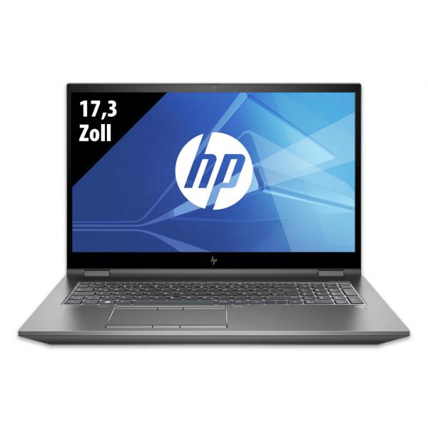 HP ZBook 17 G6 - 17,3 Zoll - Core i7-9850H @ 2,6 GHz - 16GB RAM - 500GB SSD - Nvidia Quadro RTX 3000 - UHD (3840x2160) - Webcam - Win10Pro