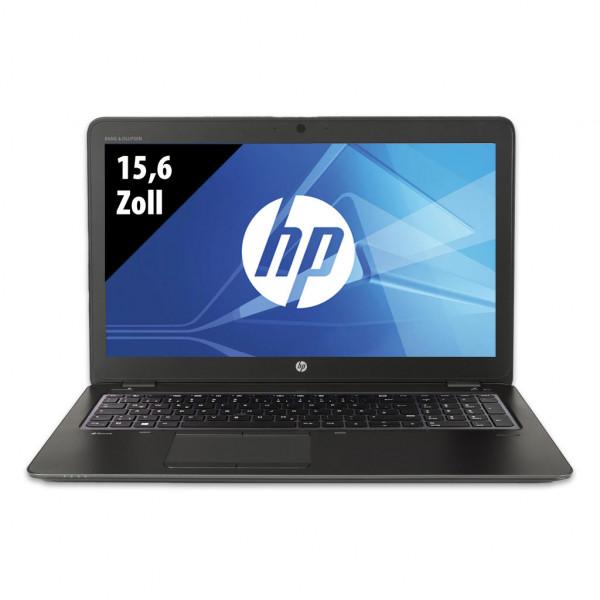 HP ZBook 15u G3 - 15,6 Zoll - Core i7-6600U @ 2,6 GHz - 16GB RAM - 500GB SSD - AMD FirePro W4190M - FHD (1920x1080) - Webcam - Win10Pro