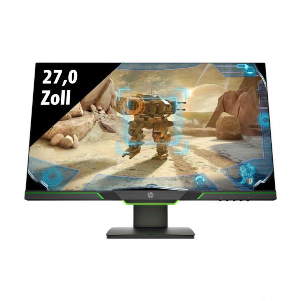 HP 27xq Gaming Monitor - 27,0 Zoll - QHD (2560x1440 Pixel) - 1 ms - schwarz