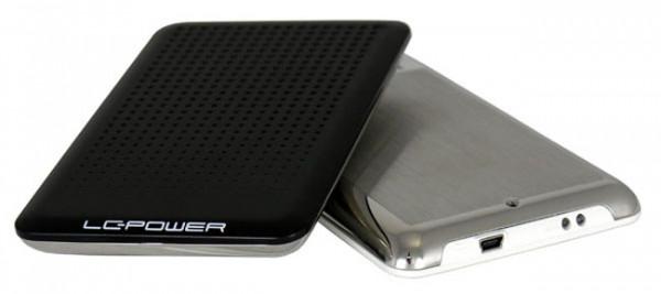LC-Power 25BU3 externes USB Festplatten-Gehäuse 2,5 Zoll