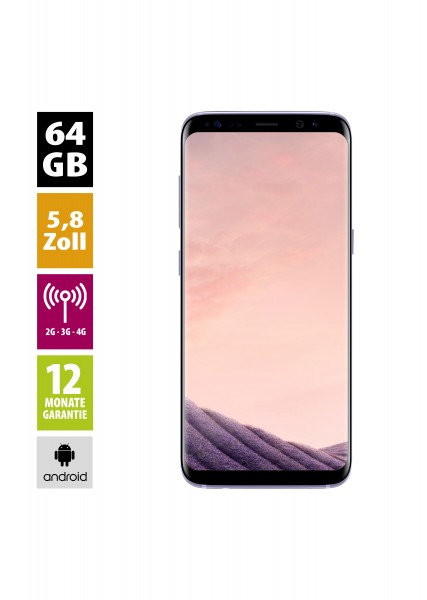 Samsung Galaxy S8 (64GB) - Orchid Grey