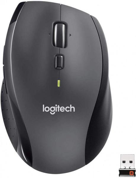Logitech M705 - Funkmaus - Anthrazit