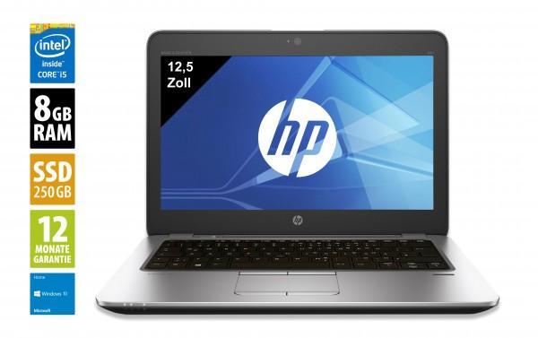 HP EliteBook 820 G1 - 12,5 Zoll - Core i5-4300U @ 1,9 GHz - 8GB RAM - 250GB SSD - WXGA (1366x768) - Webcam - Win10Home