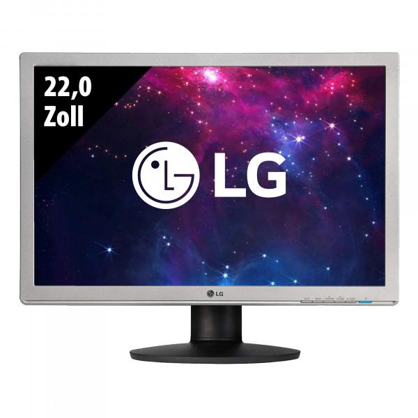 LG Flatron W2242PK-SST - 22,0 Zoll - WSXGA+ (1680x1050) - 5ms - schwarz/silber